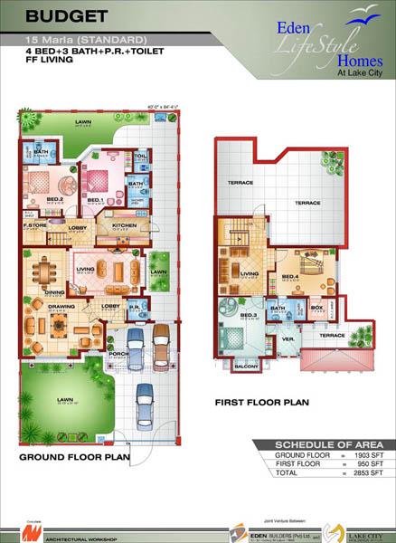 Marla House Map In Pakistan Joy Studio Design Gallery Best Pictures to ...