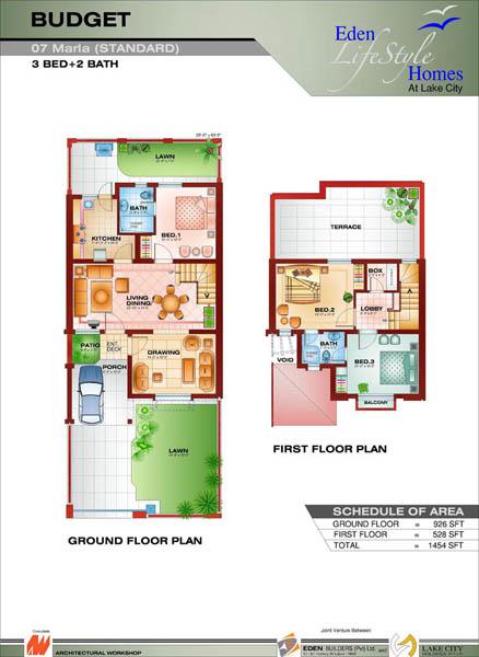 Five Marla House Plan | Joy Studio Design Gallery - Best Design
